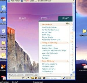screenshot of cut off mega menu